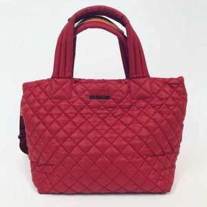 MZ Wallace Deluxe Small Metro Tote in Red
